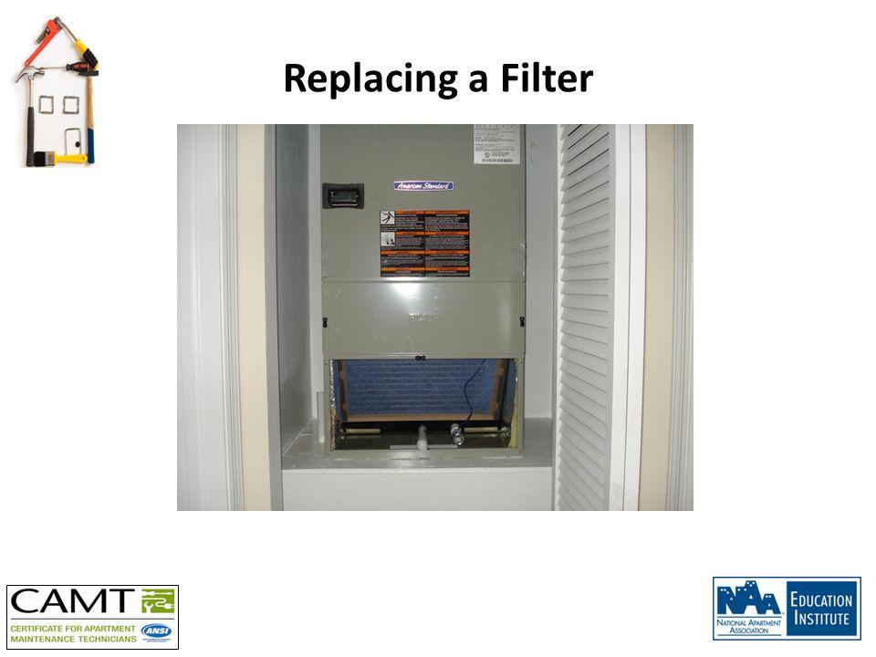 Replacing a Filter