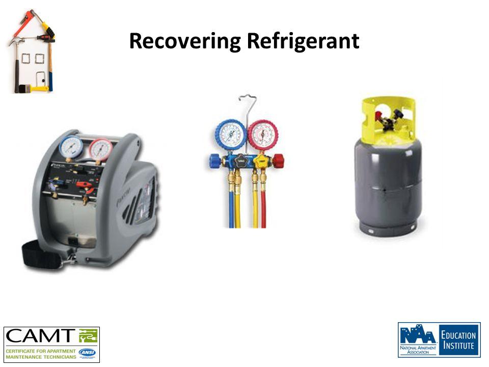 Recovering Refrigerant