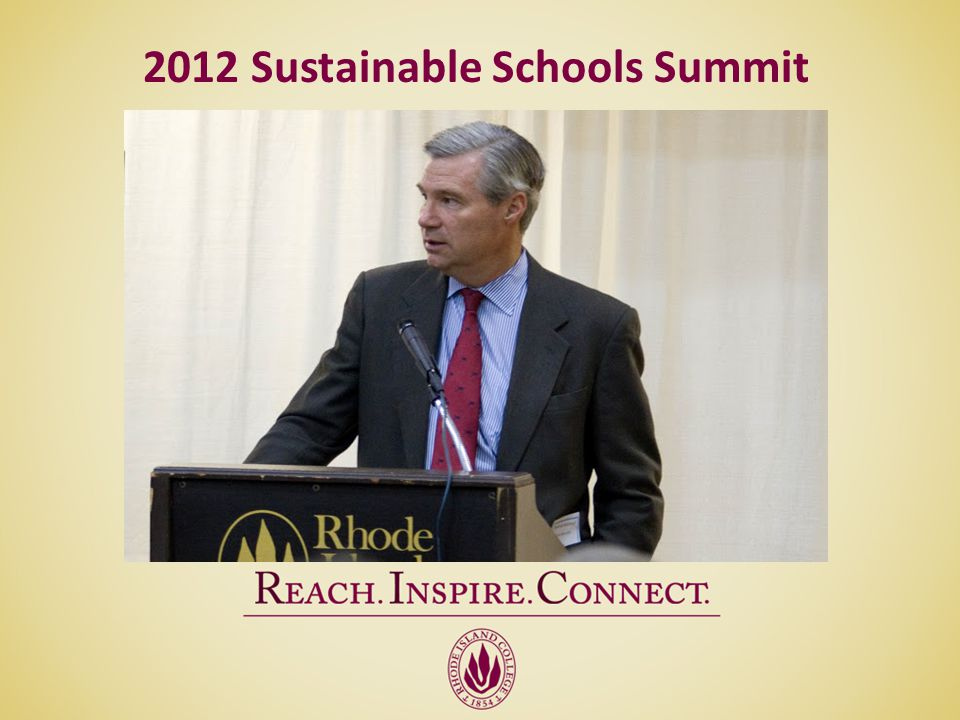 2012 Sustainable Schools Summit