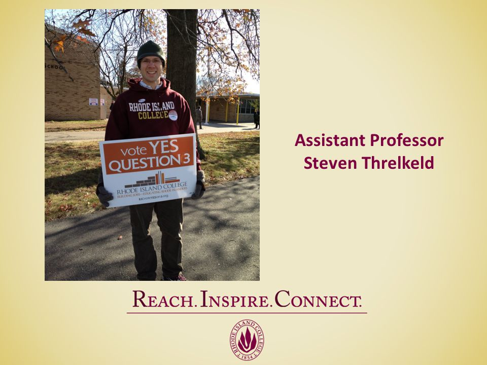 Assistant Professor Steven Threlkeld