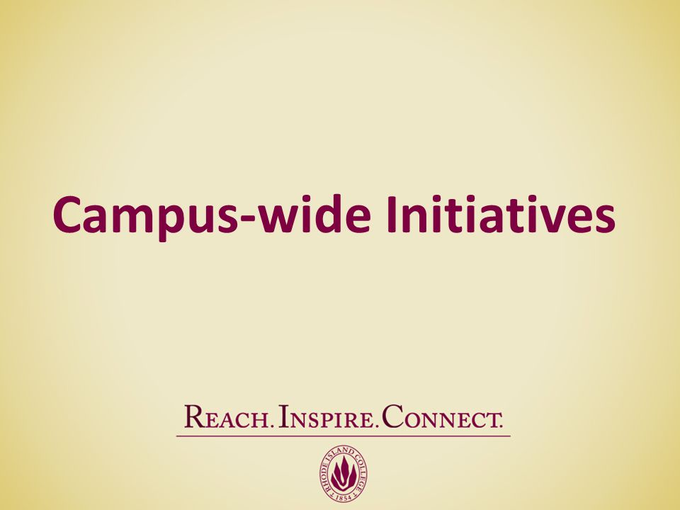 Campus-wide Initiatives