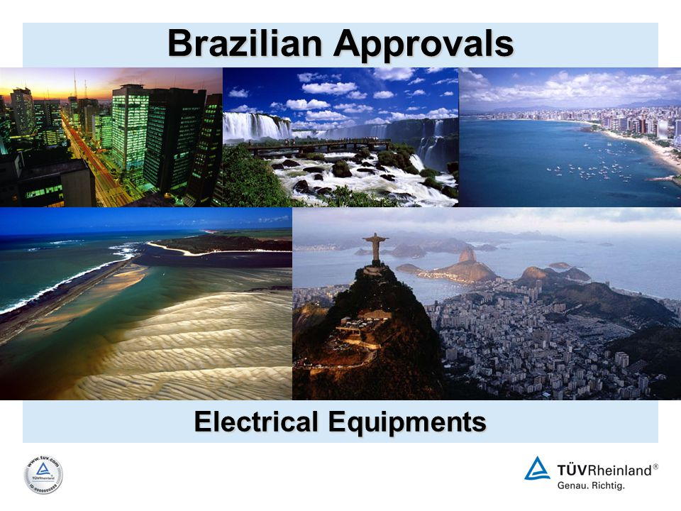 Brazilian Approvals Electrical Equipments