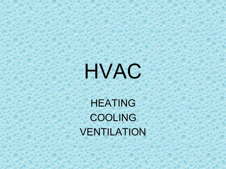HVAC HEATING COOLING VENTILATION