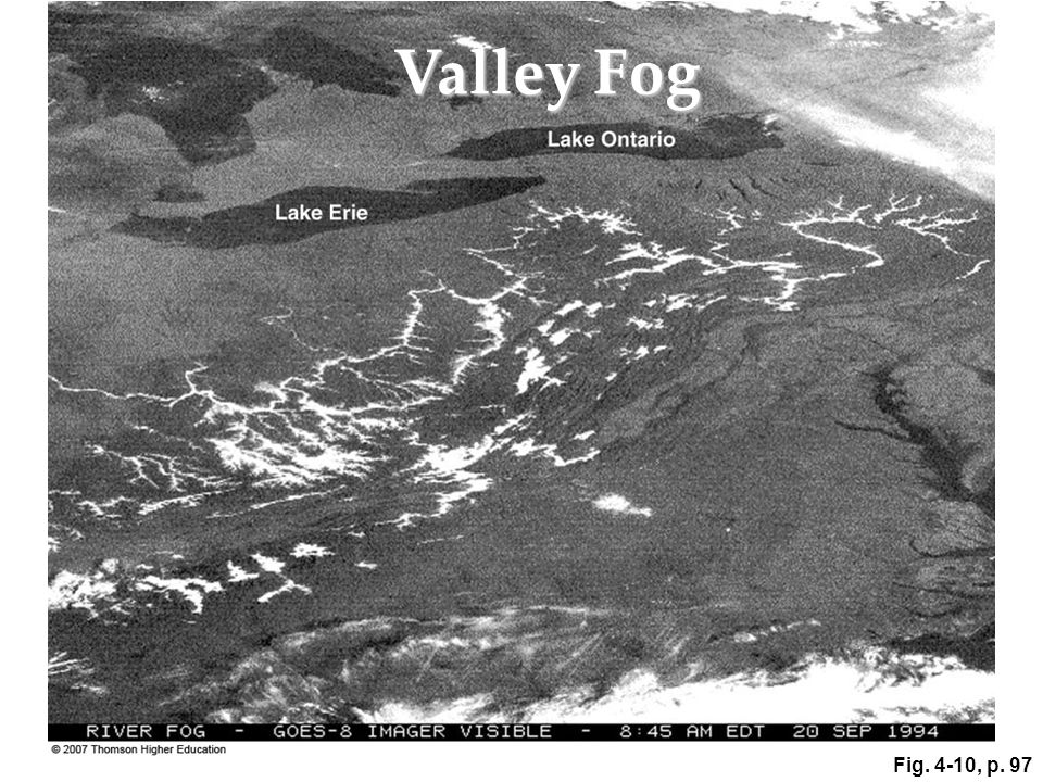 Fig. 4-10, p. 97 Valley Fog