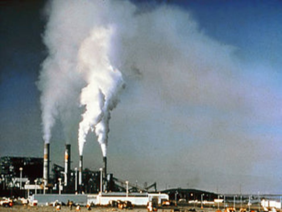 Secondary pollutants are not emitted directly.