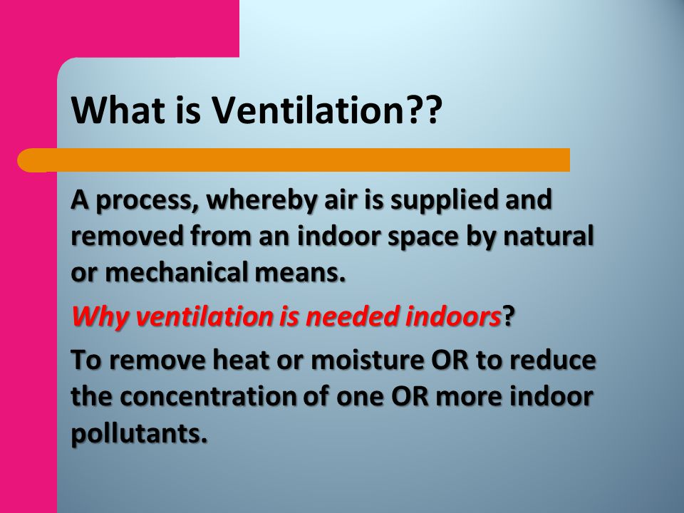 Causes Inadequate ventilation insufficient supply of outside air; poor mixing; fluctuations in temperature & humidity; What is sick building syndrome ?