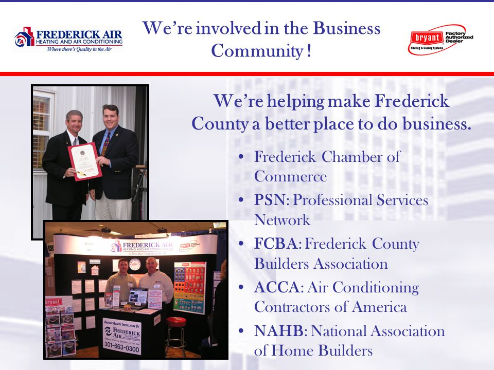 Were involved in the Business Community .