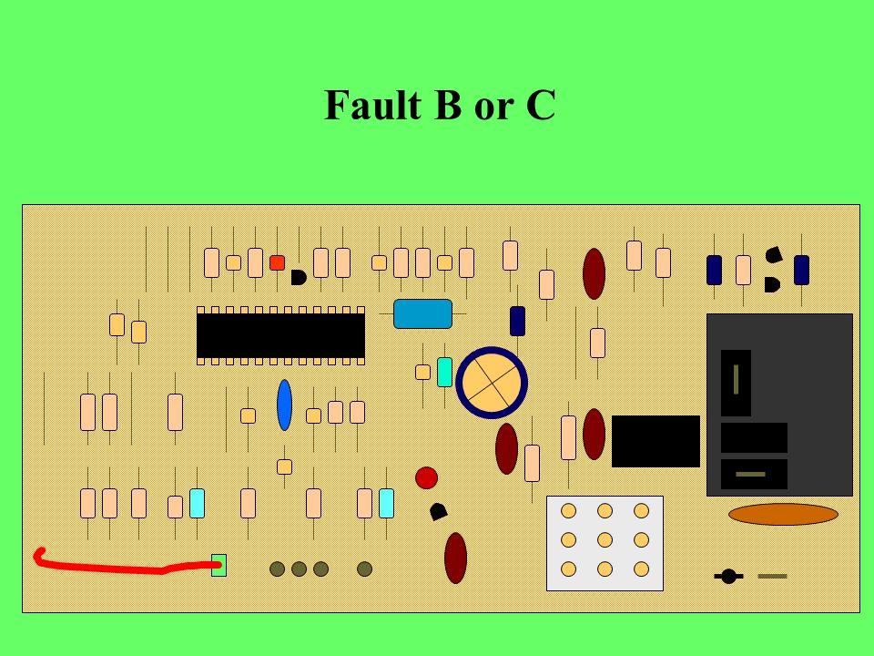 Fault B or C