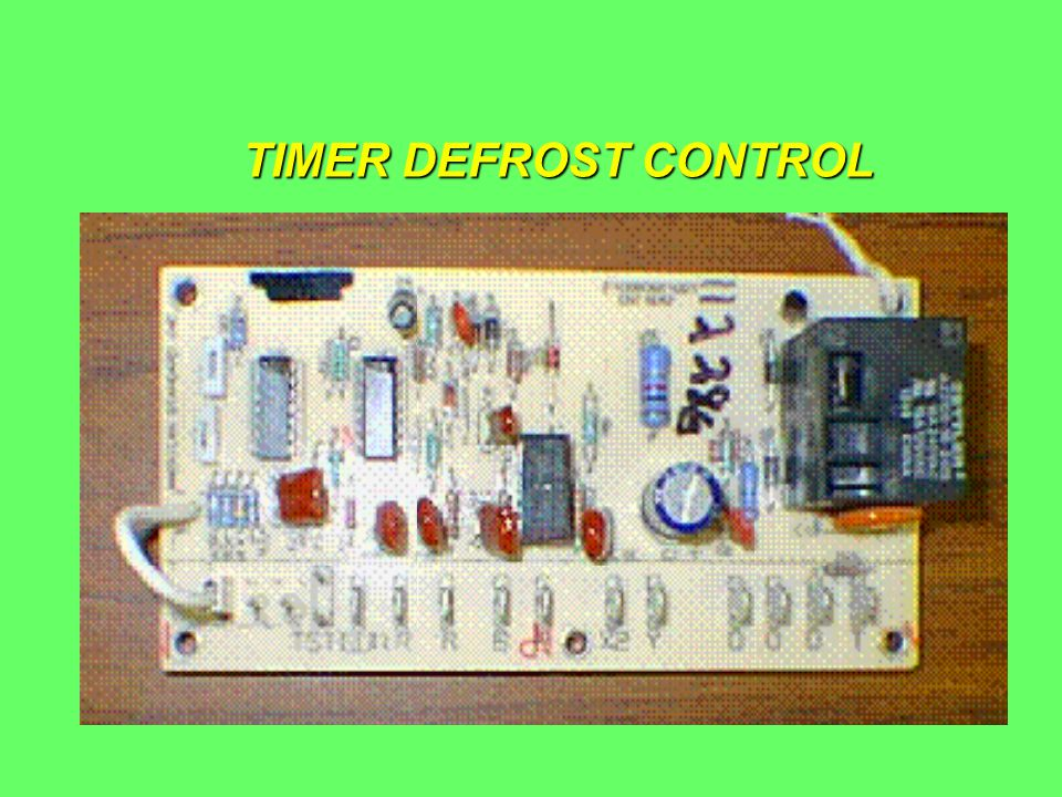 TIMER DEFROST CONTROL