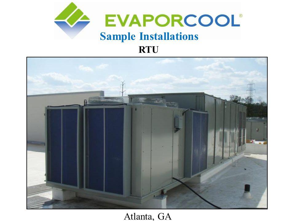 Atlanta, GA Sample Installations RTU