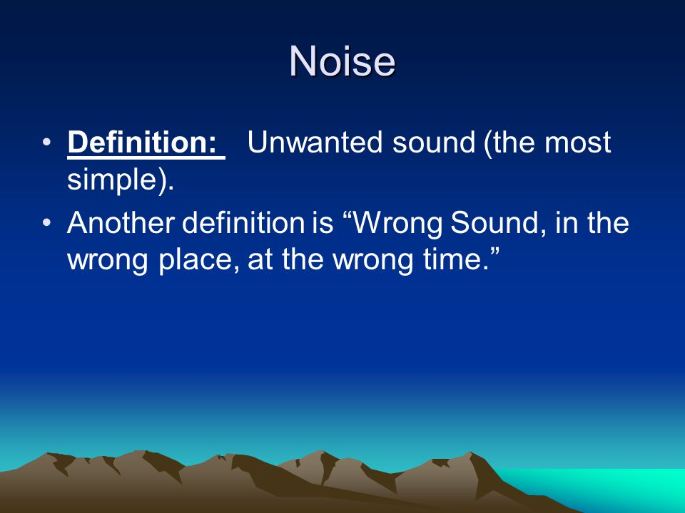 Physics of sound: 1.Wave:each complete cycle of compression and rarifaction.