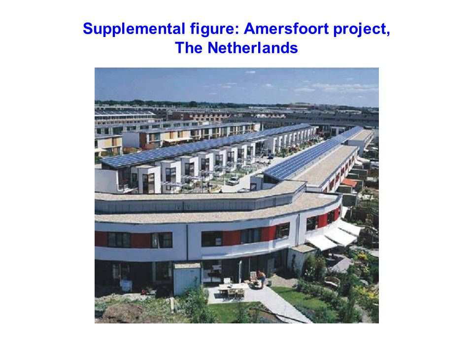 Supplemental figure: Amersfoort project, The Netherlands