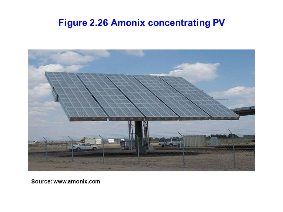 Figure 2.26 Amonix concentrating PV Source: www.amonix.com