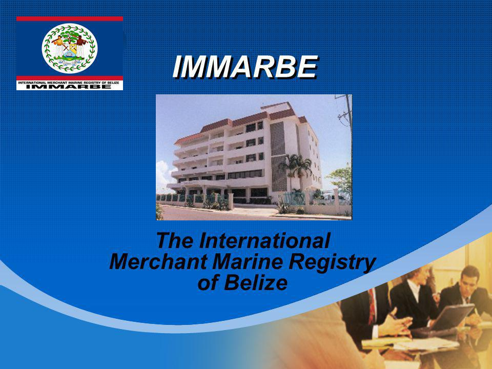 Company LOGO IMMARBE The International Merchant Marine Registry of Belize