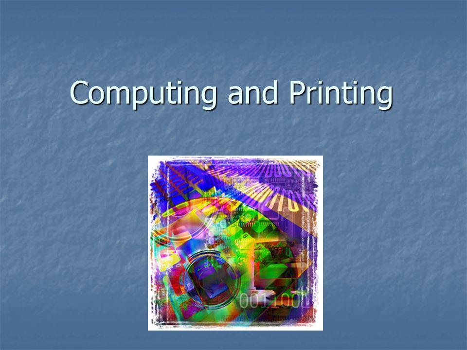 Computing and Printing