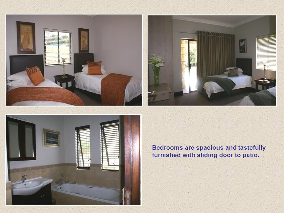 Indulge yourself with the main bedroom (en-suit) with bath, shower, toilet and hand basin.