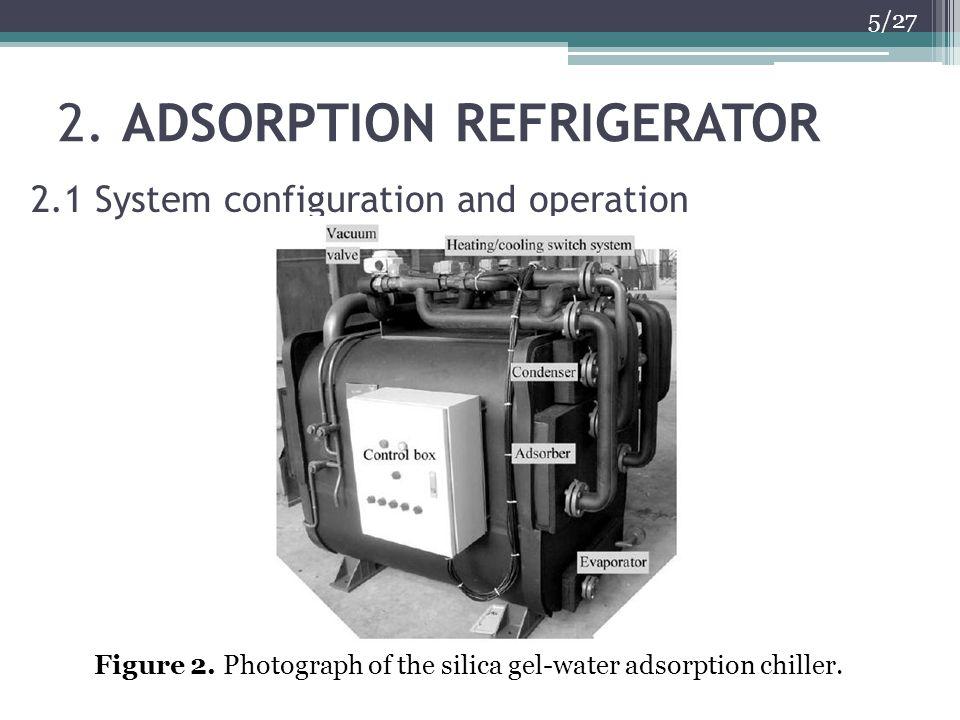 2.ADSORPTION REFRIGERATOR 6/27 2.1 System configuration and operation Figure 3.