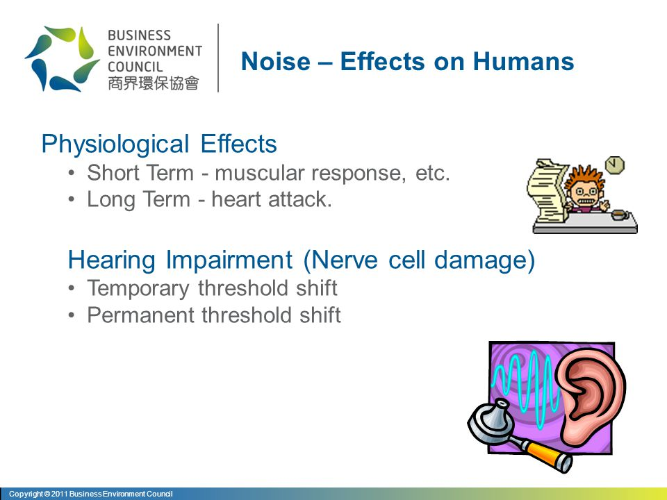 Unwanted/Annoying Sound Annoyance depends on loudness, quality of sound & personal attitudes More annoying at night - sleep interference Measured in dB / dB(A) Sound pressures vary from 20µPa (threshold of hearing) to 100 Pa (threshold of pain) What is Noise.