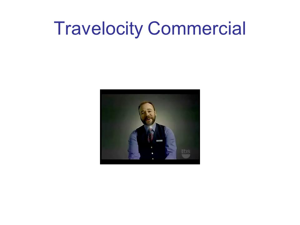Travelocity Commercial