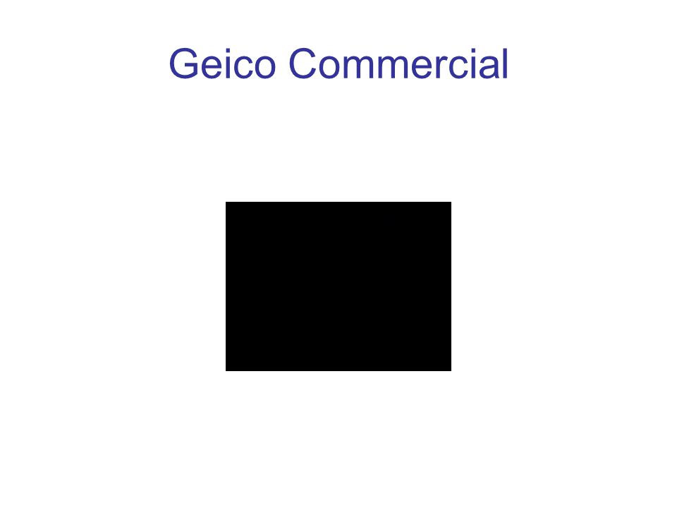 Geico Commercial
