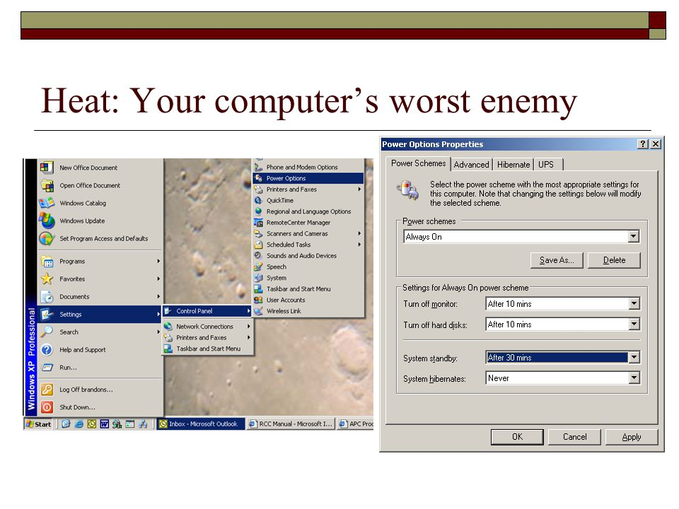 Heat: Your computers worst enemy