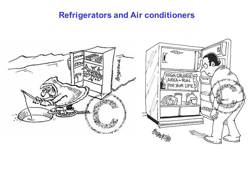 Refrigerators and Air conditioners