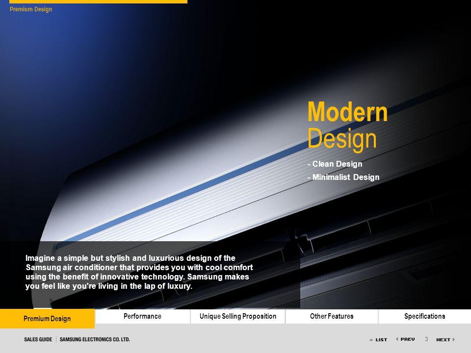 3 Premium DesignPerformanceUnique Selling PropositionOther FeaturesSpecifications Premium Design - Clean Design - Minimalist Design Modern Design Imag