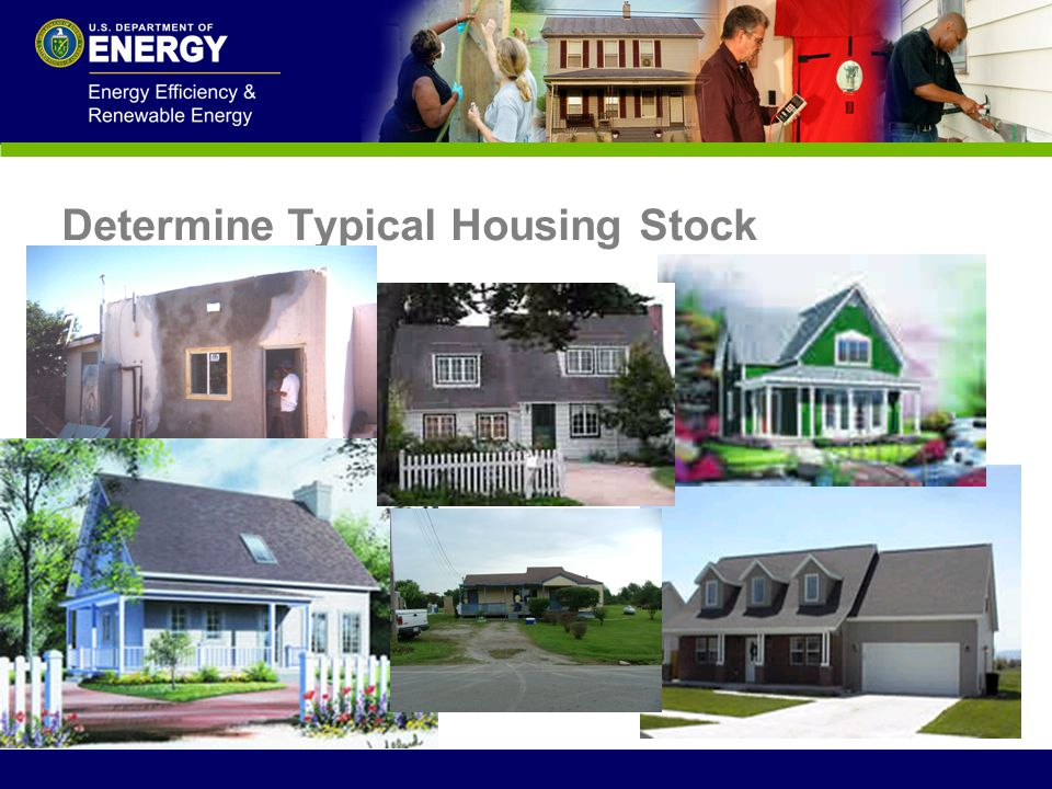Determine Typical Housing Stock
