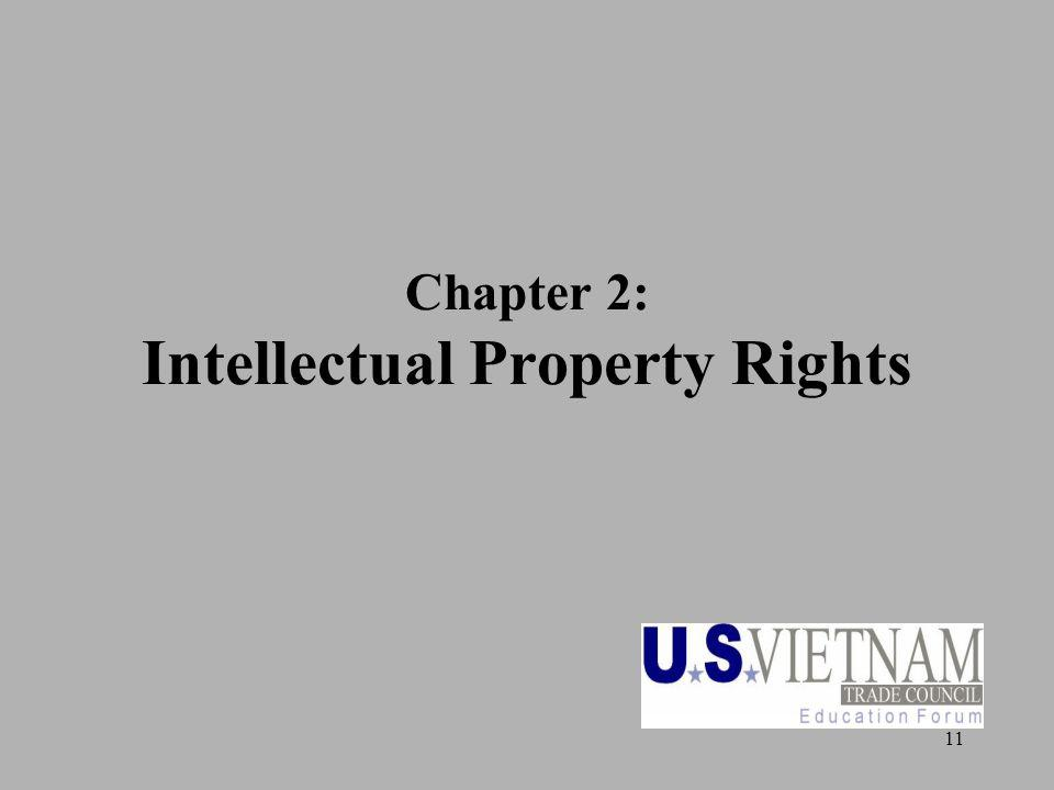 11 Chapter 2: Intellectual Property Rights