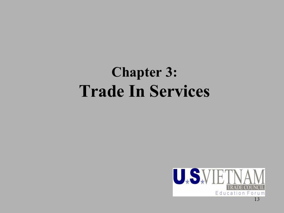 13 Chapter 3: Trade In Services