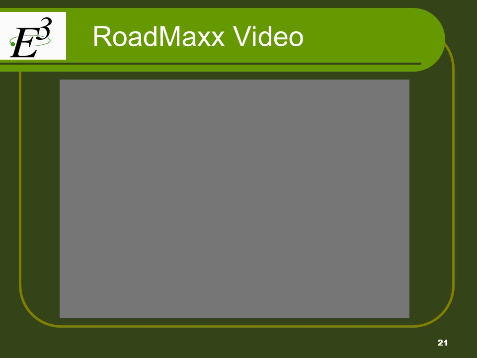21 RoadMaxx Video