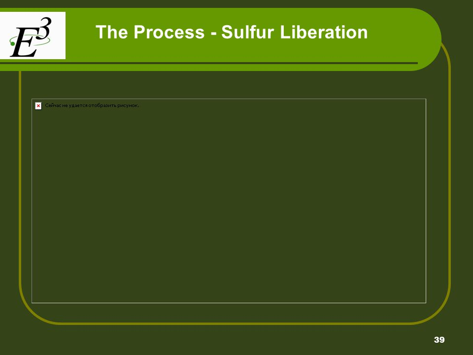 39 The Process - Sulfur Liberation