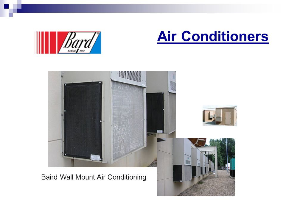 Air Conditioners Baird Wall Mount Air Conditioning