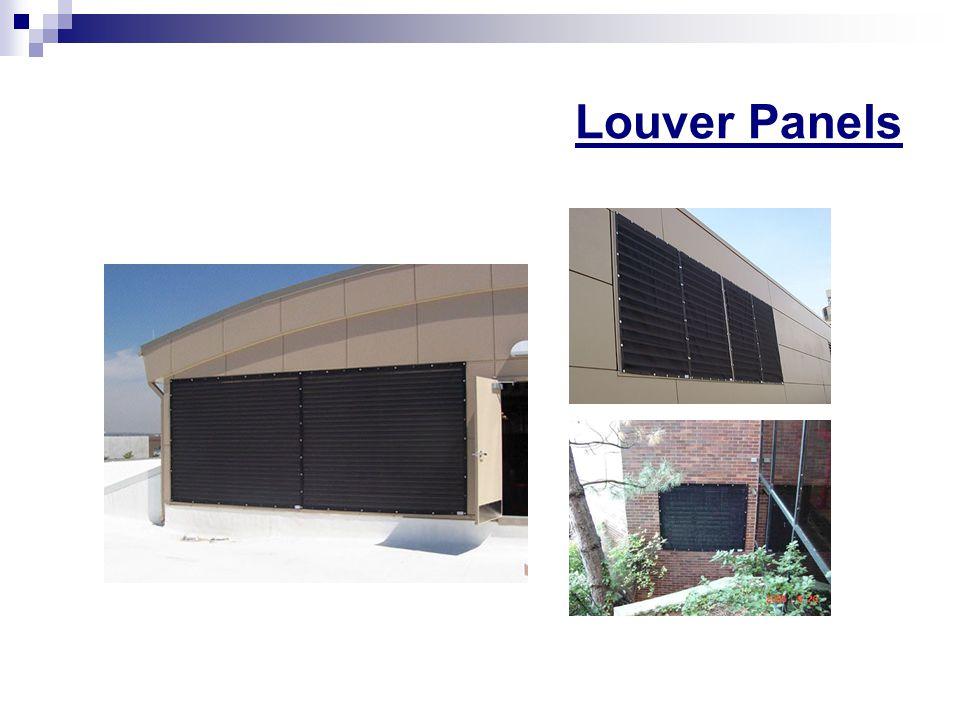 Louver Panels