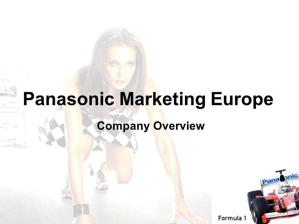 Panasonic Marketing Europe Company Overview