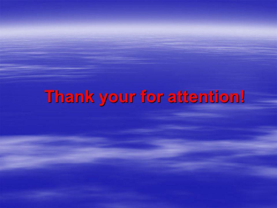 Thank your for attention! Thank your for attention!