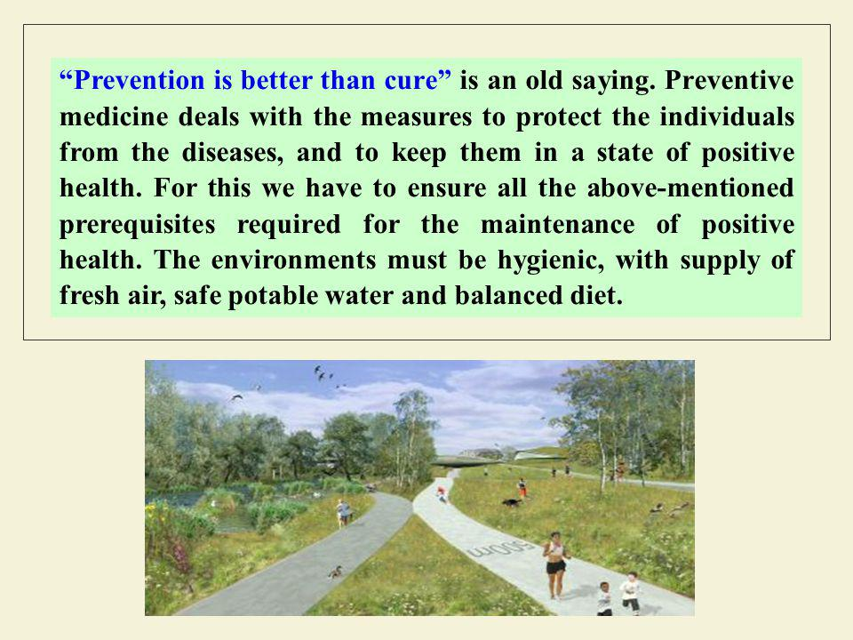Prevention is better than cure is an old saying.