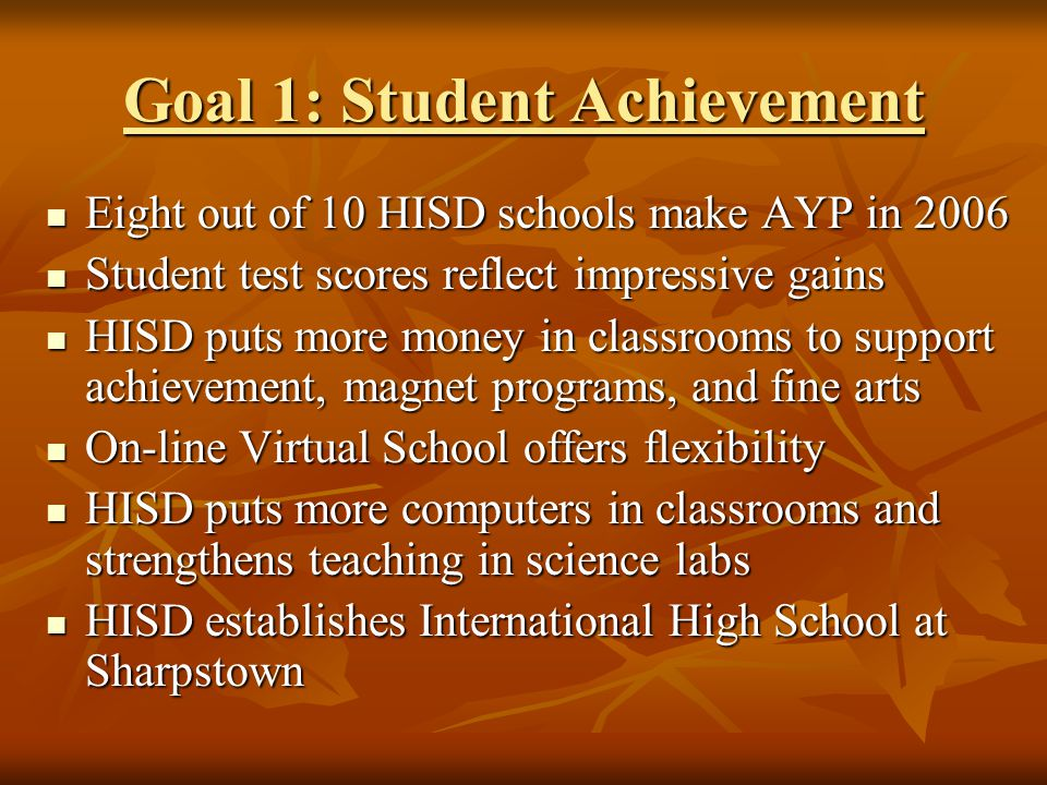 Did You Know HISD is committed to building green schools.