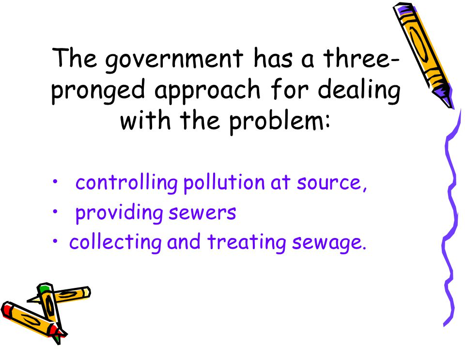 How about the water pollution?