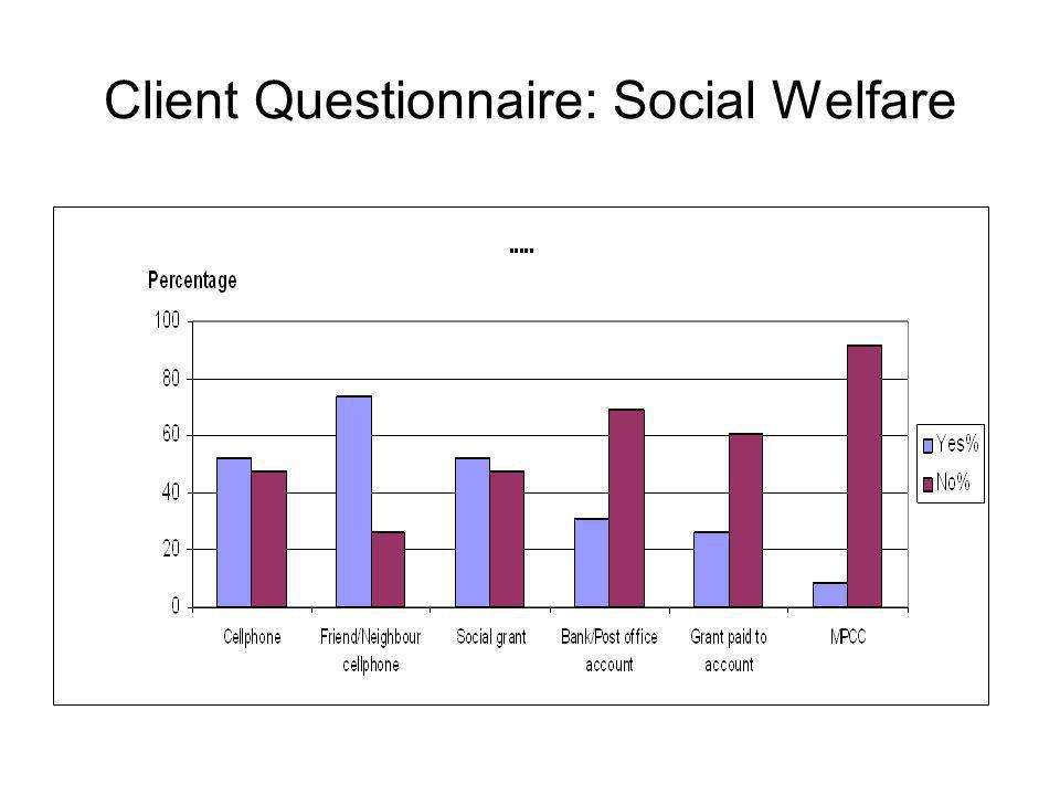 Client Questionnaire: Social Welfare