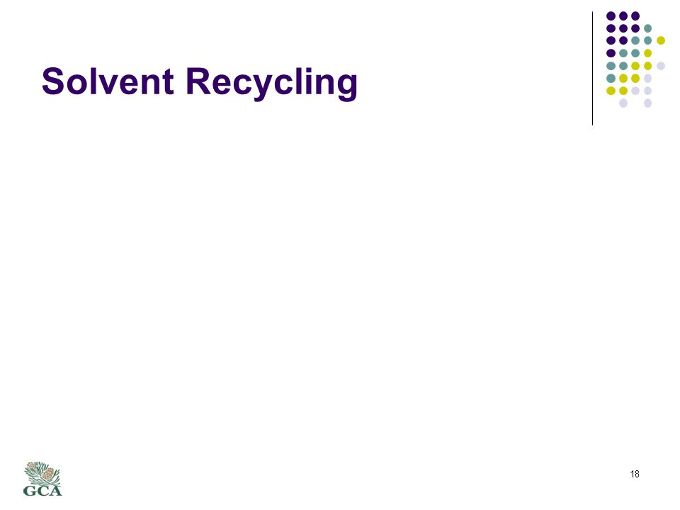 Solvent Recycling 18
