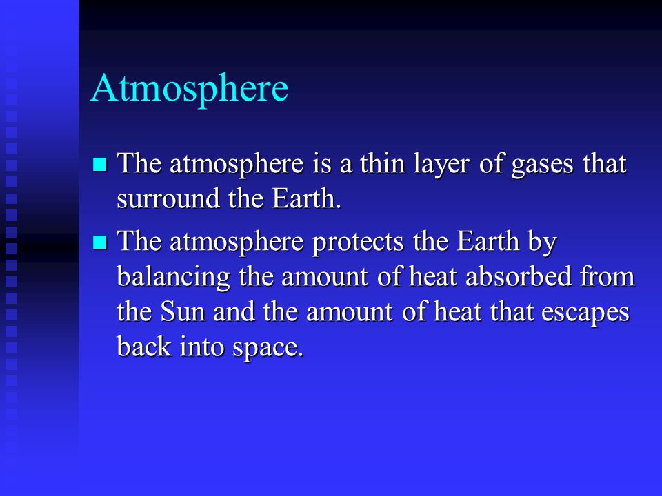 The Past Atmosphere It is theorized that 4 billion years ago the Earths atmosphere contained two deadly gases: methane and ammonia.