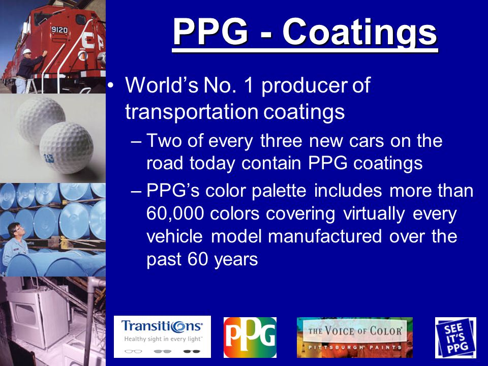 PPG - Coatings Worlds No.