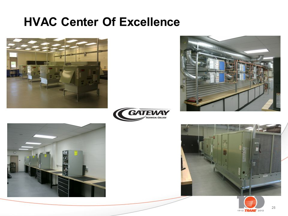 26 HVAC Center Of Excellence