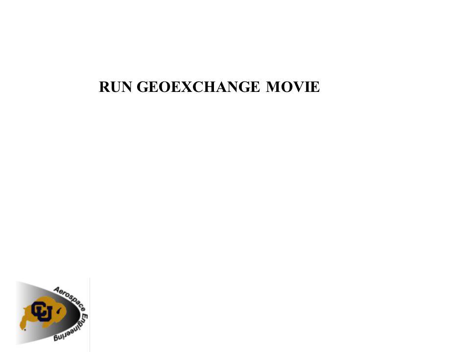 RUN GEOEXCHANGE MOVIE