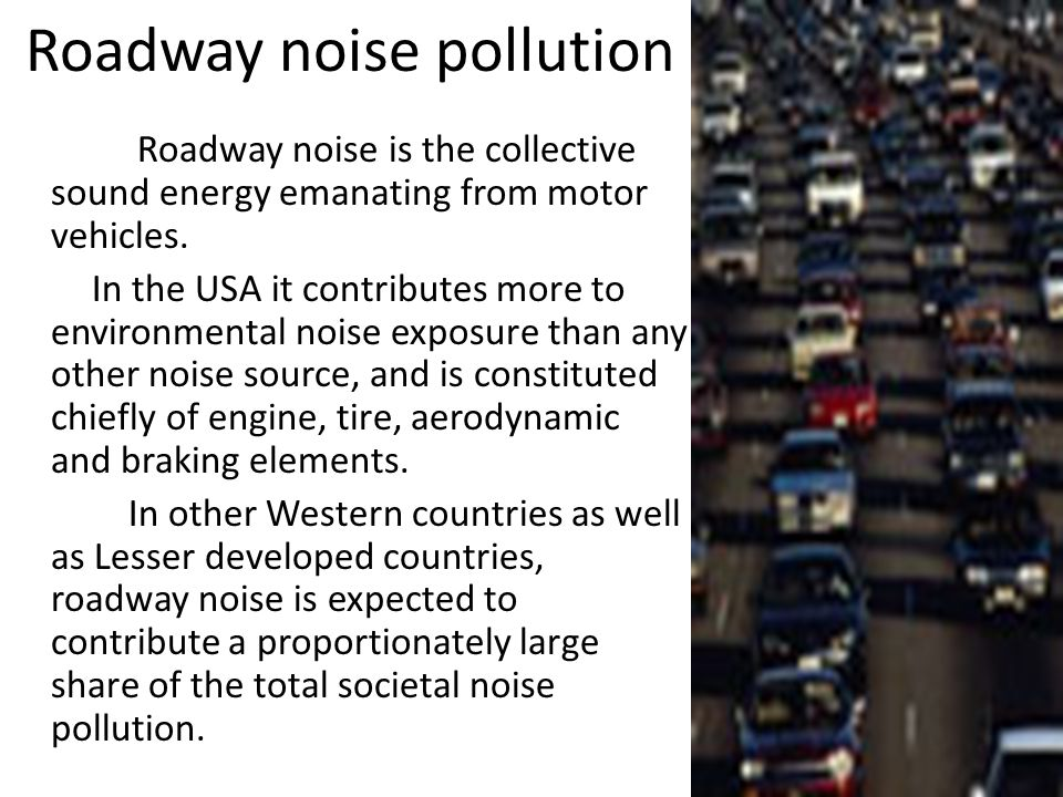 Air craft Noise Pollution Noise from planes flying over residential areas impairs people's ability to work, learn in school and sleep, and consequentl