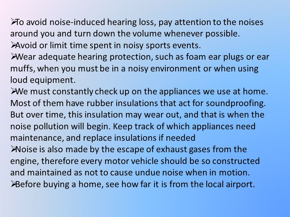 Noise Mitigation Noise mitigation is a set of strategies to reduce noise pollution. Construction of sound proof rooms for noisy machines in industries