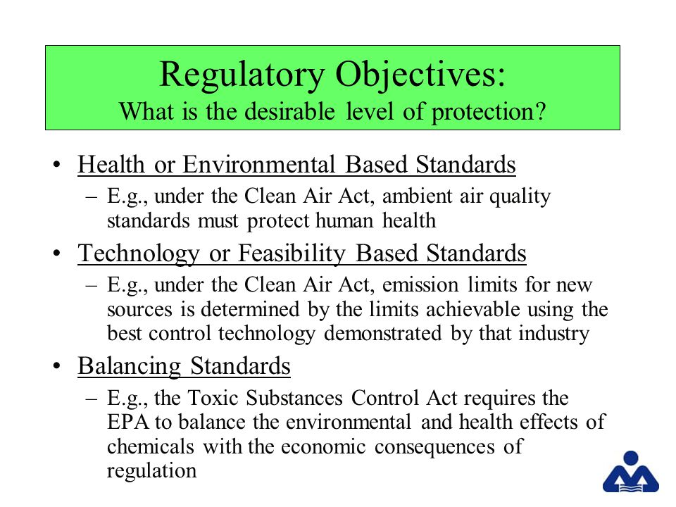 RCRA ….What are the Major Provisions.