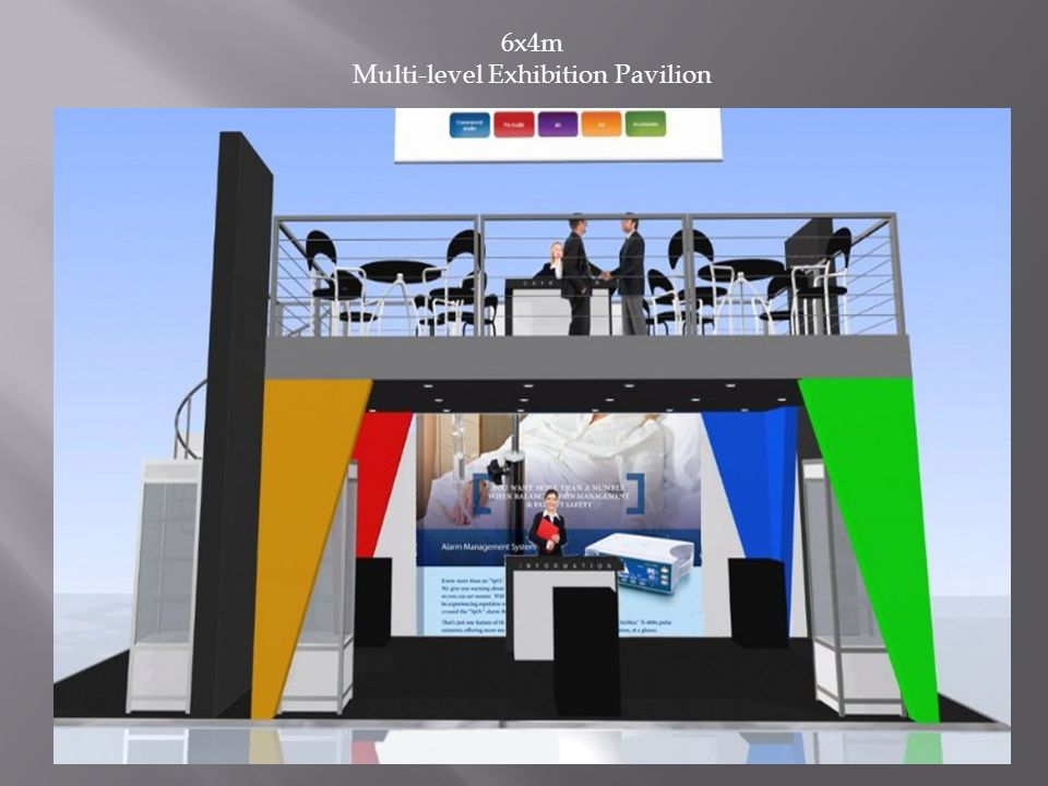 6x4m Multi-level Exhibition Pavilion