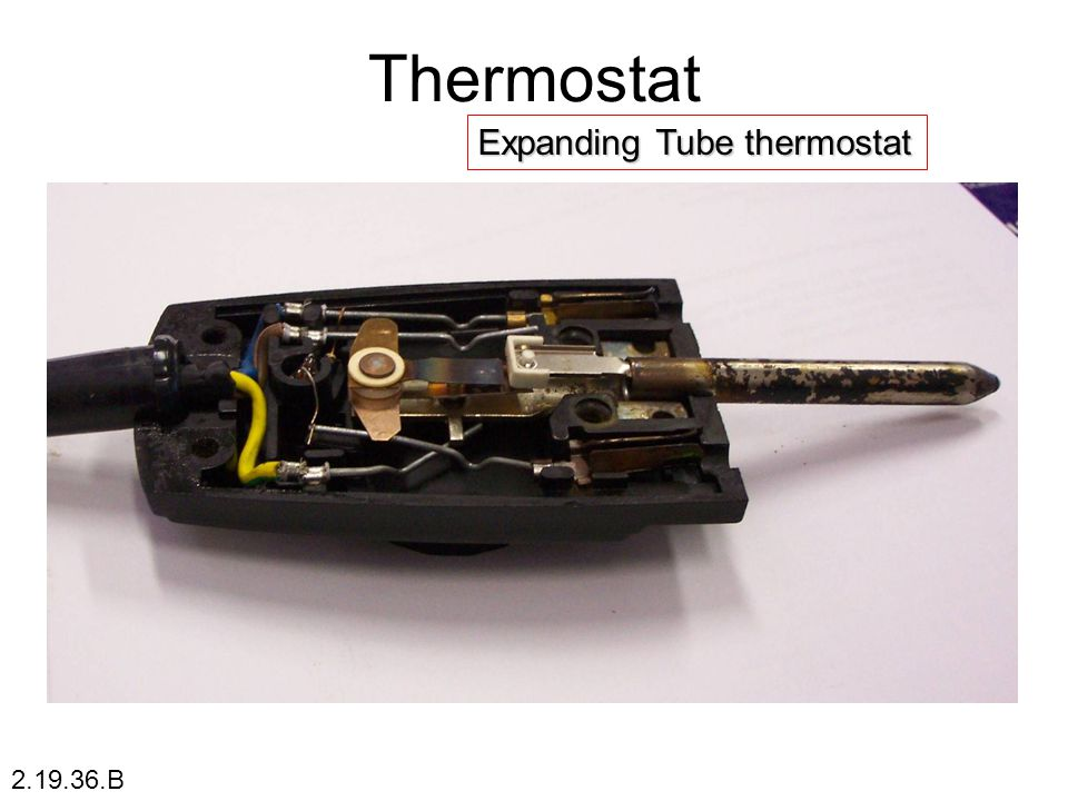 Expanding Tube thermostat Thermostat 2.19.36.B